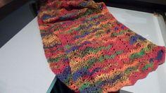 sjaal voor mezelf van gemêleerd garen