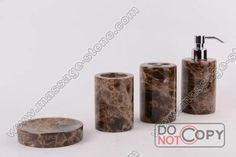 Dark emperador marble bathroom sets Black Marble Bathroom, Marble Bathroom Accessories, Beige Bathroom, Marble Vanity Tops, Bathroom Sets, Large Bathroom Design, Design Your Own Bathroom, Stone Tumbler, Chocolate Swirl Cheesecake