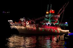 St. Croix Boat Parade in Christiansted Harbor, St. Croix USVI