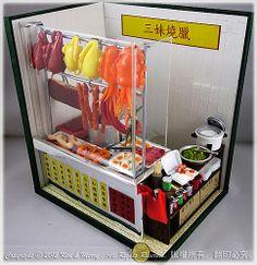 My Dollhouse Miniature の Roast Meats Shop