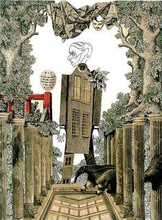 Adolf Hoffmeister, The Strange World of Max Ernst, 1960