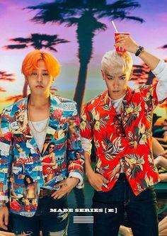 GD G-Dragon Kwon Ji Yong & T.O.P Choi Seung Hyun  ( GTOP )