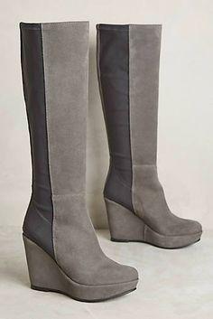 45745c02bb5e KMB Ninon Wedge Boots Shoe Sale