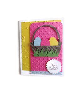 Easter Egg Card Easter Cards Easter Basket by lilaccottagecards