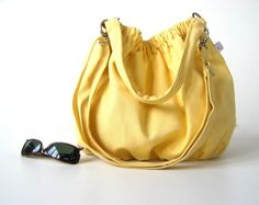 Nagy in Lemonade pale yellow  medium  by bayanhippo on Etsy, $37.00