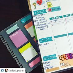 """""""We loved this #plannerhack from @julies_plans, this week's #ECfanfriday winner! For next week's challenge, we want to see how you've gotten creative with…"""""""