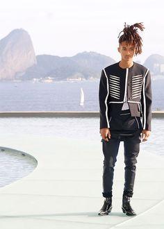 Jaden Smith conquista Río de Janeiro con un look andrógino