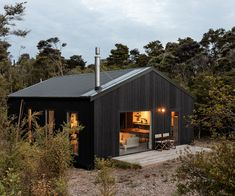 Building A Shed 290834088439094861 - How this homeowner achieved his dream rural retreat on a small budget Source by Rural House, House In The Woods, Retreat House, Home Building Design, Building A House, Building Ideas, Modern Barn, Modern Farmhouse, Suburban House