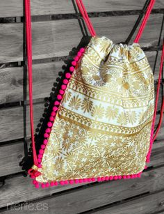 Diy Bag Designs, Ethnic Bag, Potli Bags, Diy Bags Purses, Diy Tote Bag, Diy Handbag, Linen Bag, Fabric Bags, Kids Bags