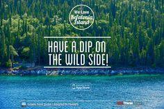 Kefalonia Island, a dip on the wild side!