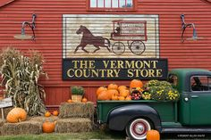 Vermont Country Store in the fall