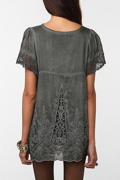 Hazel Embroidered Blouse
