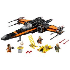 36.78$  Buy here - Star Wars Poe's X-Wing Fighter Force Awakens Set  Poe Dameron Resistance Ground Crew Pilot Kid toyS  #aliexpress