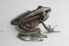 Scrap Metal Frog Love it!!!!