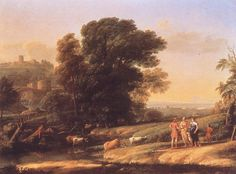Landscape+with+Cephalus+and+Procris+Reunited+by+Diana+Claude+Lorrain+1645.jpg (907×670)