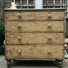Stunning antique solid chest of drawers