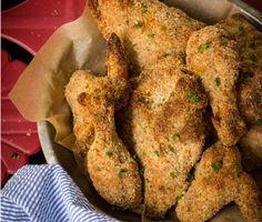 Crispy Oven-Fried Chicken Recipe  at Epicurious.com