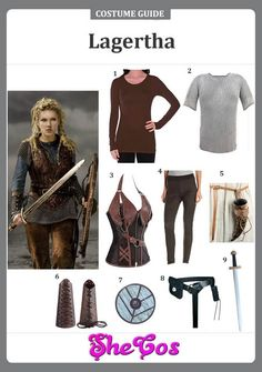 Vikings Outfit Pictures the creative way to get the vikings lagertha costume Vikings Outfit. Here is Vikings Outfit Pictures for you. Vikings Costume Diy, Viking Halloween Costume, Vikings Halloween, Diy Halloween, Viking Shield Maiden, Viking Warrior, Viking Woman, Female Viking, Cool Costumes