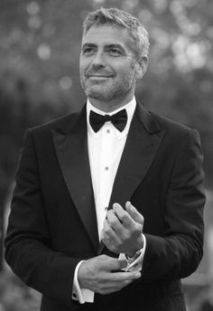 Clooney in a tux