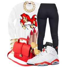 Mermaid, created by no-flex-zone on Polyvore