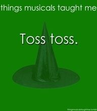 Things Musicals Taught Me~ Popular
