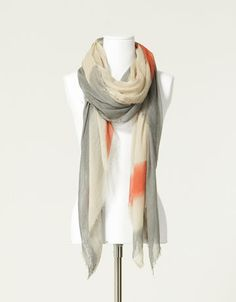 love these muted colors (scarf from Zara)