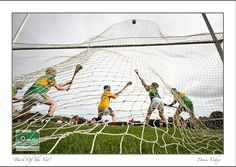 ie have posted this amazing photo under the caption 'Best GAA photo of the year'. We love it here in the O'Neills office. The forlorn glances of the defenders says it all. Great photo by Denis Vahey Defenders, Great Photos, Caption, Balls, Good Things, Amazing, Sports, Travel, Trips