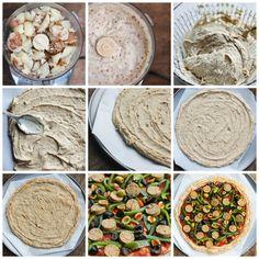The 4 Step Gluten-free Pizza Crust
