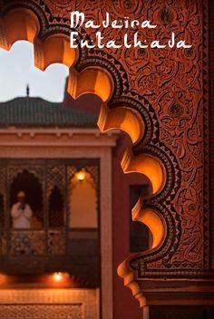Wood art. #design #Art #typical #Morocco #casadevalentina