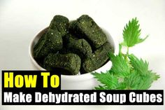 How To Make Dehydrated Soup Cubes - SHTF Preparedness