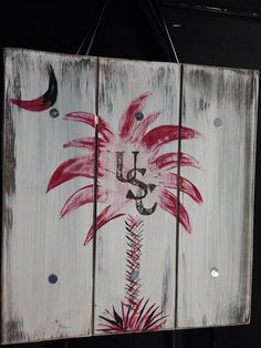 Personalized Family Name Wood Sign or Front Door by Ladizdesigns, $25.00