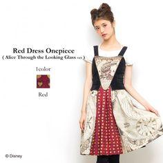 Secret Honey Alice in Wonderland through the looking glass ver Red Dress  | eBay