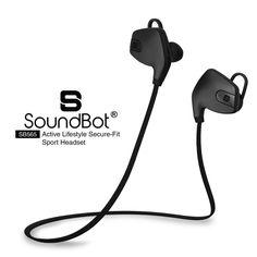 SoundBot® SB565 Bluetooth Sports Wireless Earbud