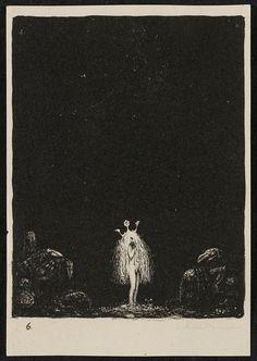 Lithograph 1, John Bauer,  1915