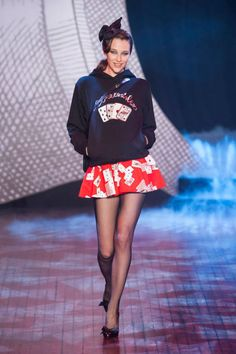 See the entire collection from the Olympia le Tan Fall 2014 Ready-to-Wear runway show. Fashion Catwalk, Elle Fashion, High Fashion, Paris Fashion, Olympia Le Tan, Mini Skirt Dress, Mini Skirts, Nerd Chic, Got The Look