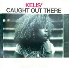 KELIS CAUGHT OUT THERE 初期の #neptunes の代表作だと思うけど当時の衝撃はスゴかった記憶があるもちろん2枚買ったw #kelis #caughtoutthere #1999 #vinyl #レコード #レコードジャケット #pharrellwilliams #chadhugo