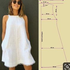 Diy Clothing, Sewing Clothes, Dress Sewing Patterns, Clothing Patterns, Fashion Sewing, Diy Fashion, Formation Couture, Diy Dress, Sewing Techniques