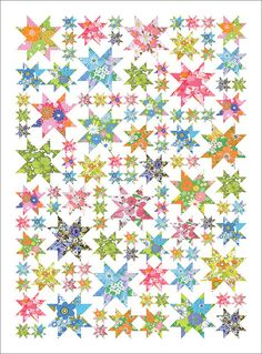"""Oh my Stars instructions. Add to the growing list of """"To make"""" quilts"""