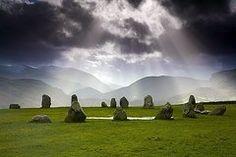 Standing Stones Art - Castlerigg Stone Circle Kendal  by John Doornkamp
