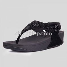 Fitflop Suisei Black Womens Sandals