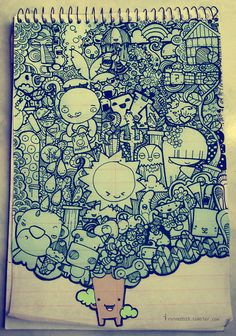 Obsessed with doodle art, gawwh! Check out the website for more