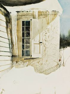 Andrew Wyeth (1917-2009) The Observatory (1978) watercolor and pencil on paper 30 X 22 in.