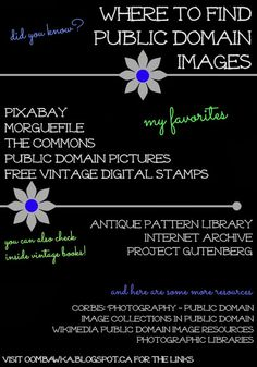 did you know? where to find public domain images