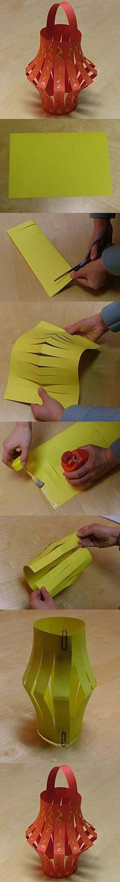 DIY Paper Lantern DIY Projects | UsefulDIY.com Follow Us on Facebook ==> http://www.facebook.com/UsefulDiy