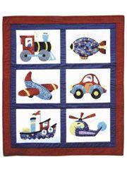 Boys Toys Pattern.