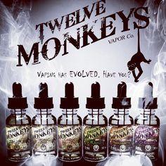 Coming soon to Tank Puffin... Twelve Monkeys Vapor  a new addition to our highly acclaimed 'American All Stars' line up ✨ a selection of the best juices from the best brands! #managbeys #tankpuffin #twelvemonkeys #special #ejuice #eliquid #super #popular #vape #vapelove #vapefam #vapemail #comingsoon #newin #americanallstars #bestofthebest #vapedaily #vapeon #vapelife #vapepics #vapeporn #instavape #vapenation #vapestagram #girlswhovape #highvg #notblowingsmoke #vapeshop #ukvapeshop