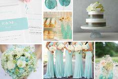Decoración de boda en aquamarine #Tendencias2015