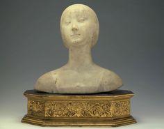 Francesco Laurana, Buste d'Isabelle dAragon (ca. 1469, Musée Jacquemart-André, Paris)