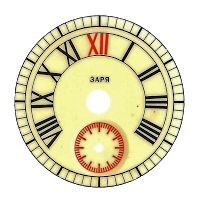 vintage clock face knick of time