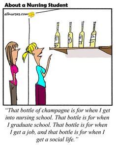 All prequalifying nursing students